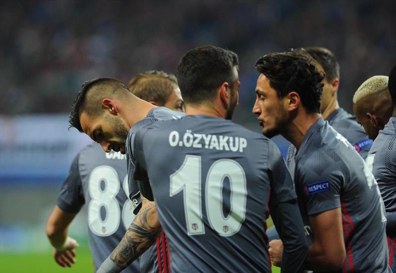 Leipzig-Beşiktaş foto galerisi