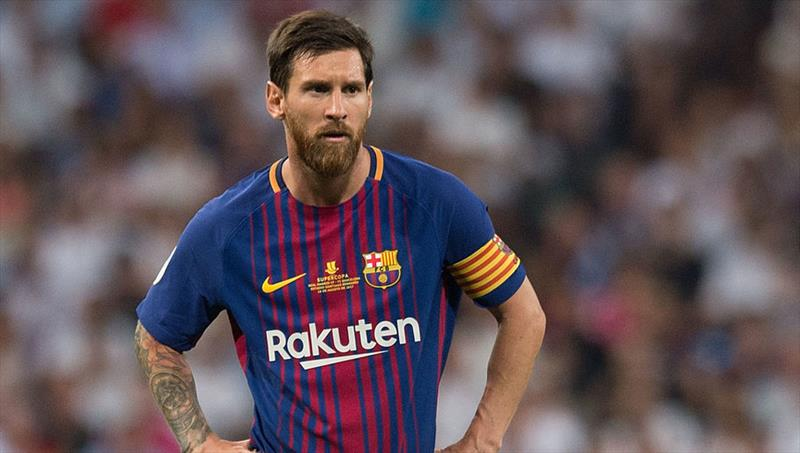 Messi Real Madrid'de!
