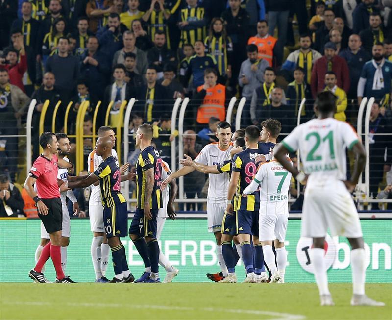 Fenerbahçe - A.Alanyaspor foto galerisi