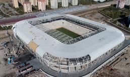 Eryaman Stadı'nın, MKE Ankaragücü-Beşiktaş maçına yetiştirilmesi planlanıyor