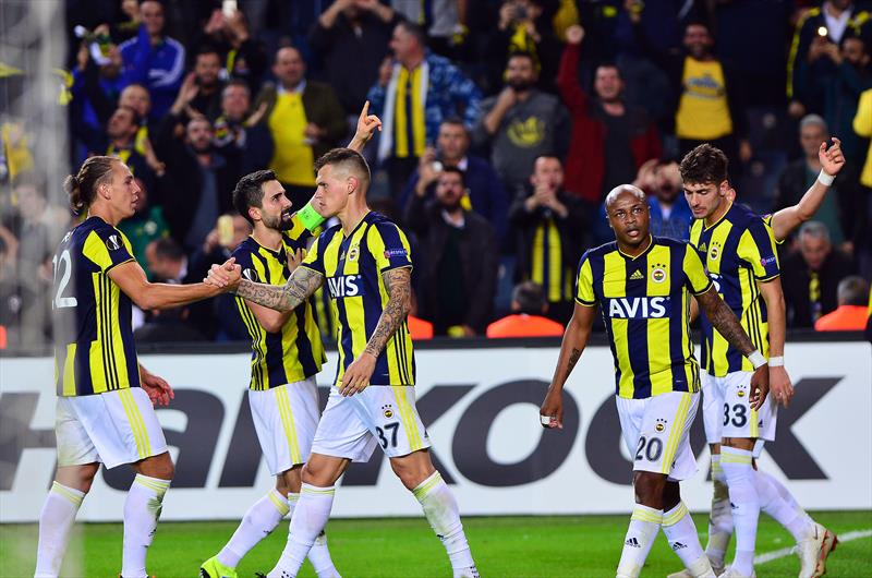 Fenerbahçe - Anderlecht foto galerisi
