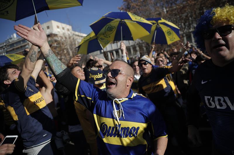 Madrid'de Libertadores coşkusu