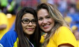 Brezilya - İsviçre maçında kareler