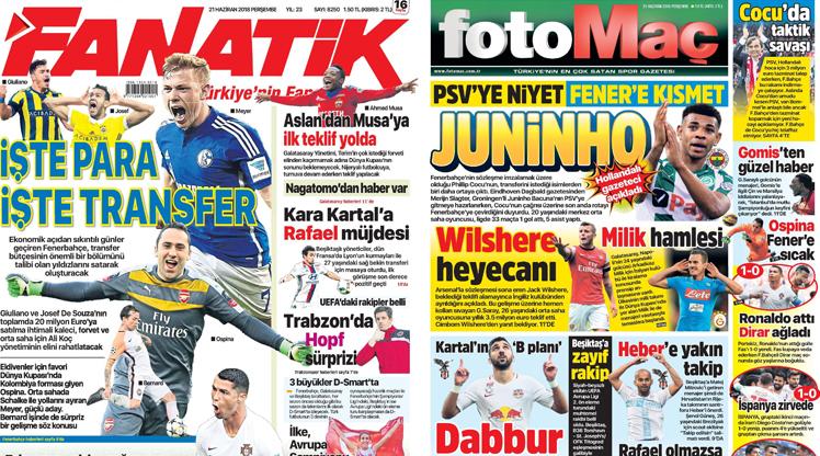 21 Haziran gazete manşetleri