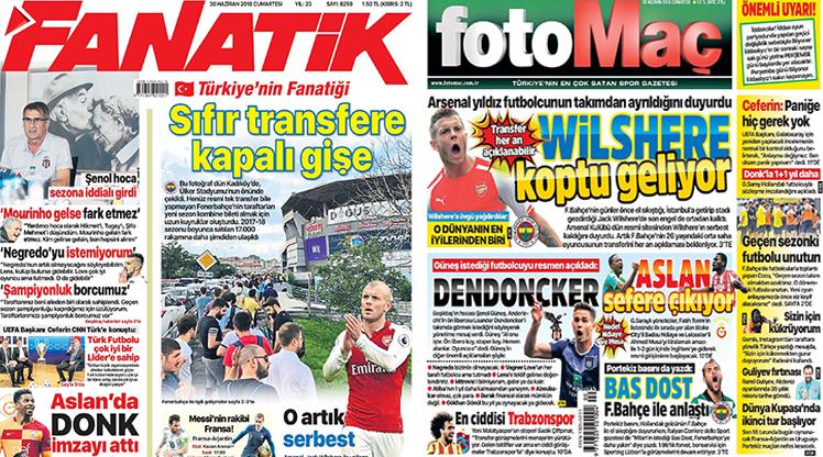 30 Haziran gazete manşetleri