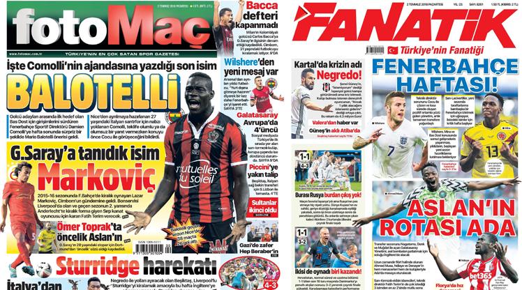 2 Temmuz gazete manşetleri