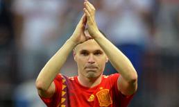 Andres Iniesta Milli Takım kariyerine son verdi