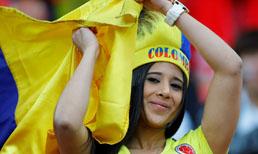 Kolombiya - İngiltere foto galeri