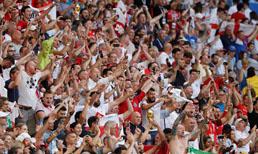İngilizler yarı finali büyük coşkuyla kutladı