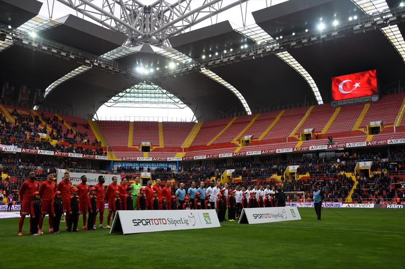 İM Kayserispor - Beşiktaş foto galeri