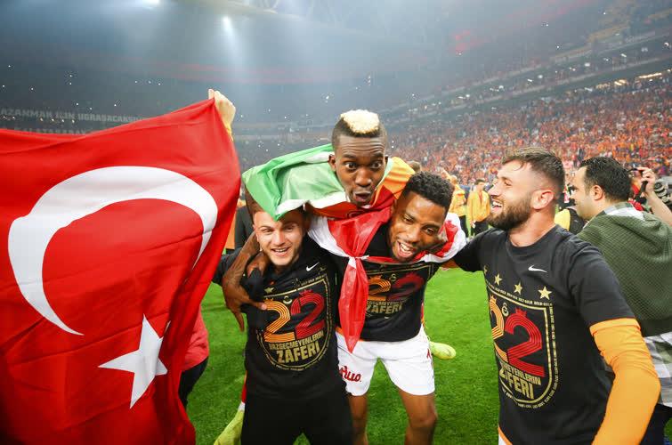 Galatasaray'ın şampiyonluğu dünya basınında