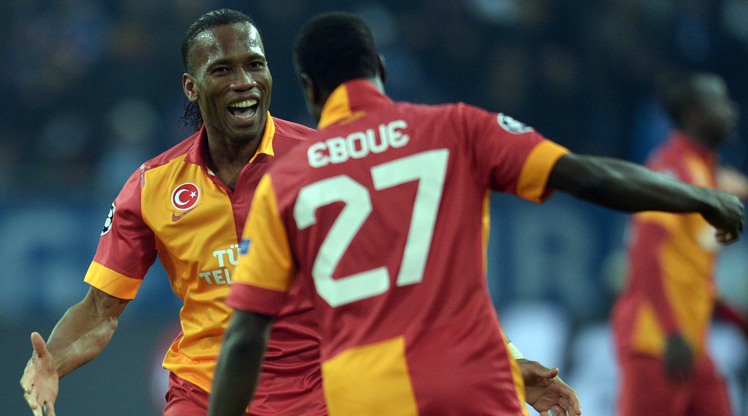 Galatasaray'da oynamış Fildişili yıldızlar
