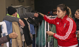 River Plate dünyaya dayanışma örneği gösteriyor