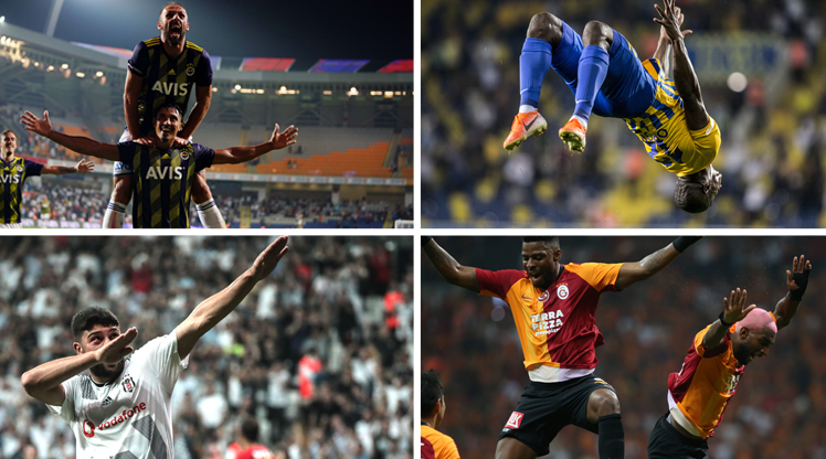 Süper Lig'de haftaya damga vuran kareler