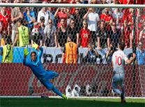 İsviçre Polonya maç özeti