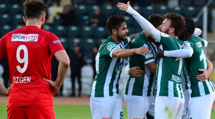 Akın Çorap Giresunspor Balıkesirspor Baltok maç özeti