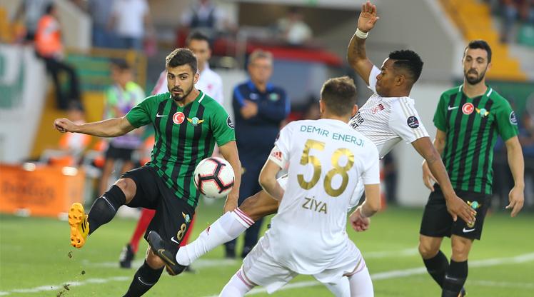 Akhisarspor Demir Grup Sivasspor maç özeti
