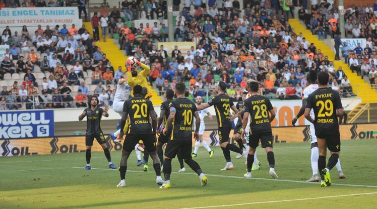 Aytemiz Alanyaspor Evkur Yeni Malatyaspor maç özeti