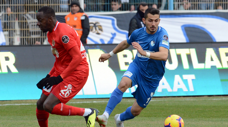 BŞB Erzurumspor Antalyaspor maç özeti