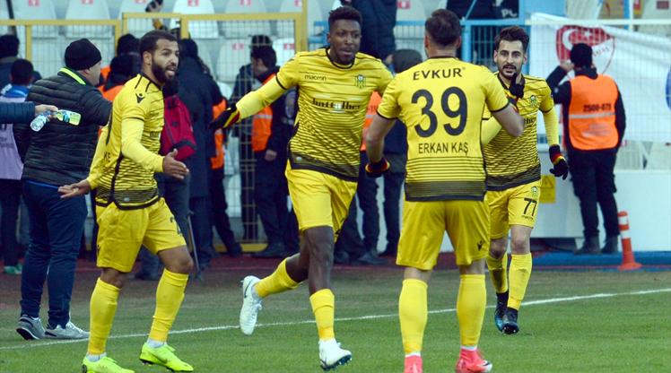 BŞB Erzurumspor Evkur Yeni Malatyaspor maç özeti
