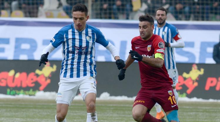 BŞB Erzurumspor İstikbal Mobilya Kayserispor maç özeti