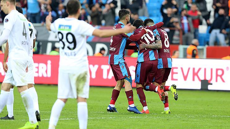 Trabzonspor Akhisarspor maç özeti