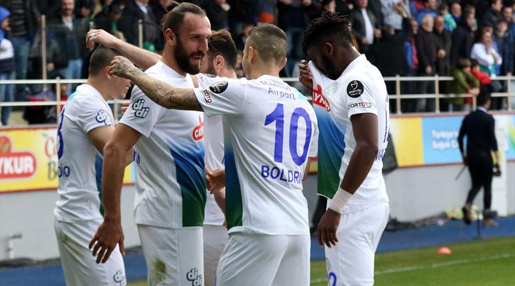 Çaykur Rizespor İstikbal Mobilya Kayserispor maç özeti