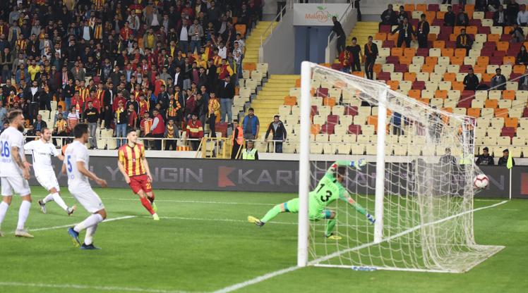 Evkur Yeni Malatyaspor BŞB Erzurumspor maç özeti