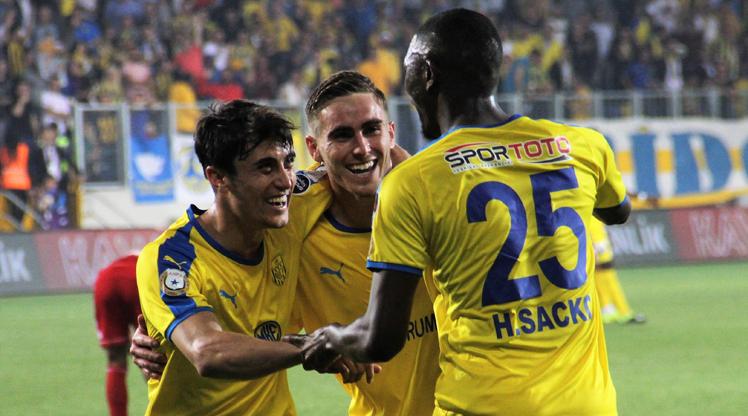 MKE Ankaragücü Demir Grup Sivasspor maç özeti