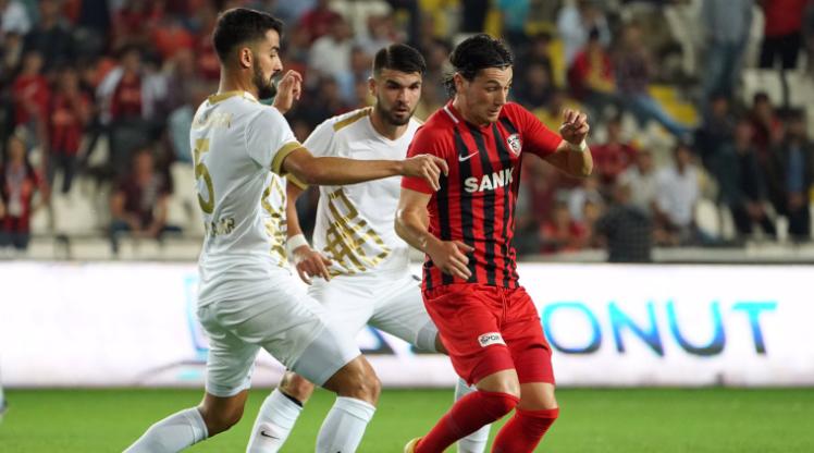Gazişehir Gaziantep FK Osmanlıspor FK maç özeti