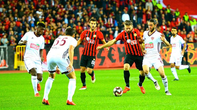 Eskişehirspor Hatayspor maç özeti