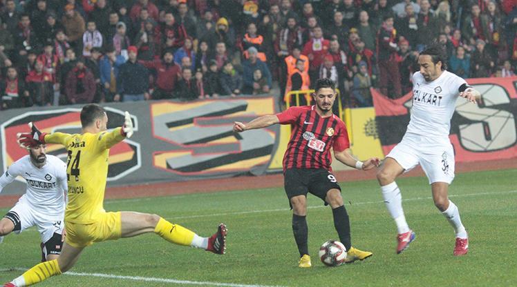Eskişehirspor Altay maç özeti
