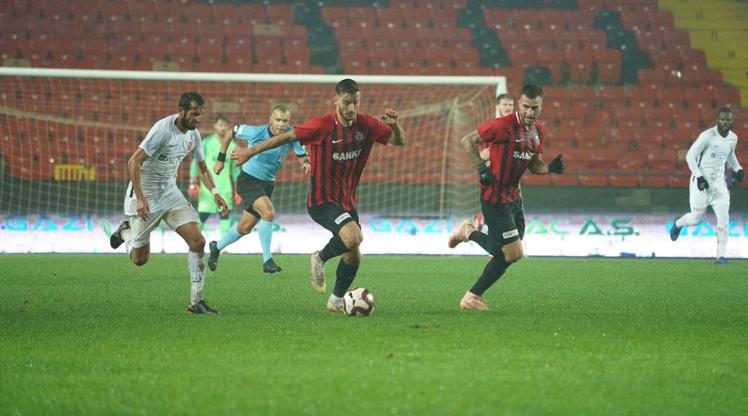 Gazişehir Gaziantep FK Balıkesirspor Baltok maç özeti