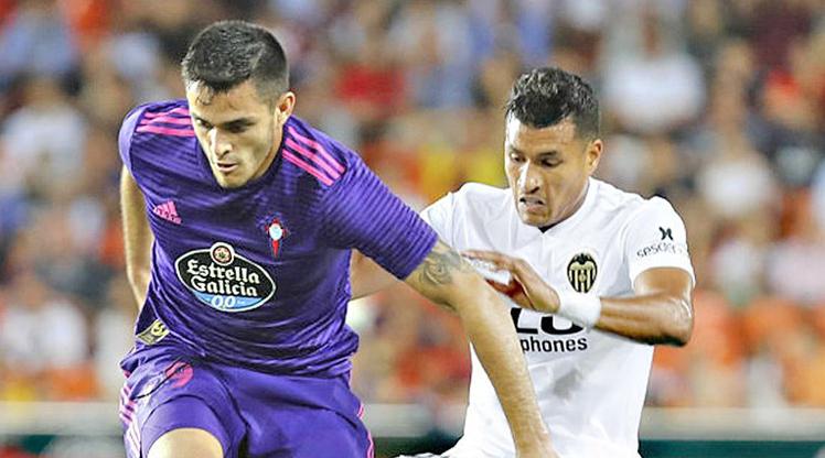 Valencia Celta Vigo maç özeti
