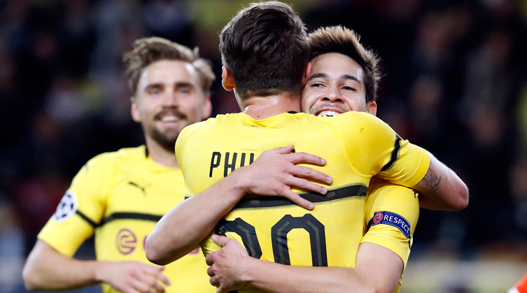 Monaco Borussia Dortmund maç özeti