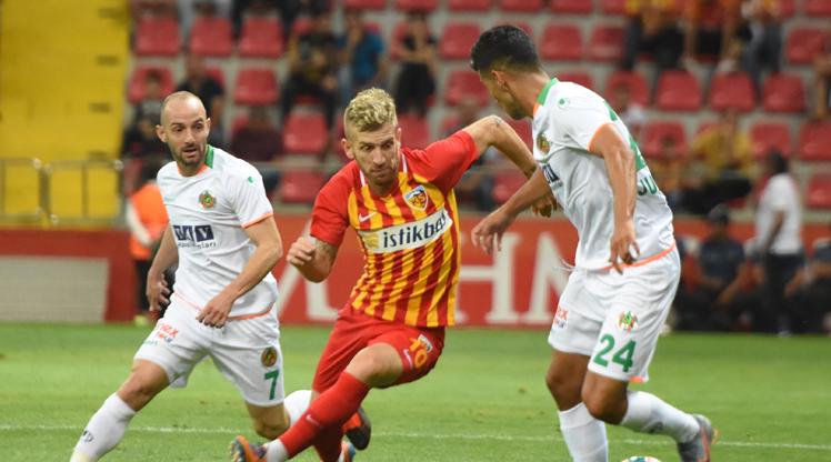 İstikbal Mobilya Kayserispor Aytemiz Alanyaspor maç özeti