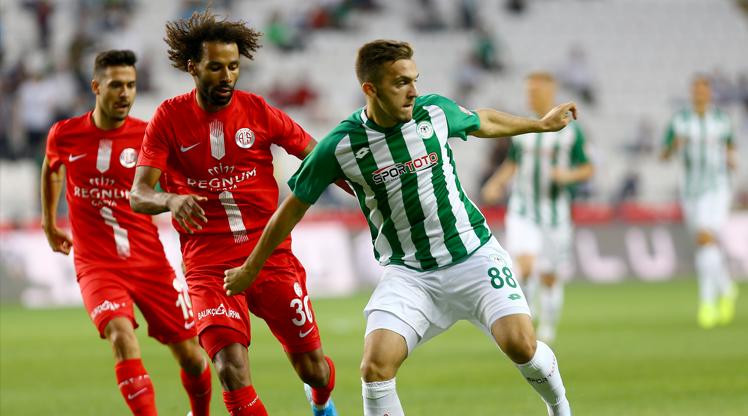 İttifak Holding Konyaspor Antalyaspor maç özeti