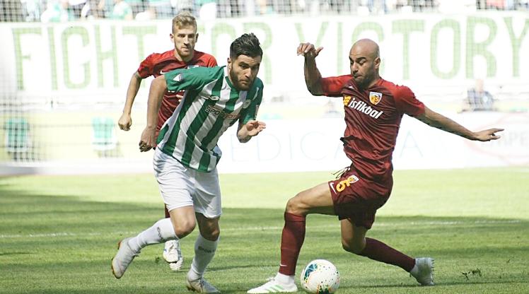 İttifak Holding Konyaspor İstikbal Mobilya Kayserispor maç özeti