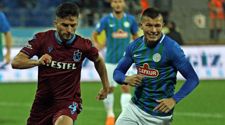 Çaykur Rizespor Trabzonspor maç özeti