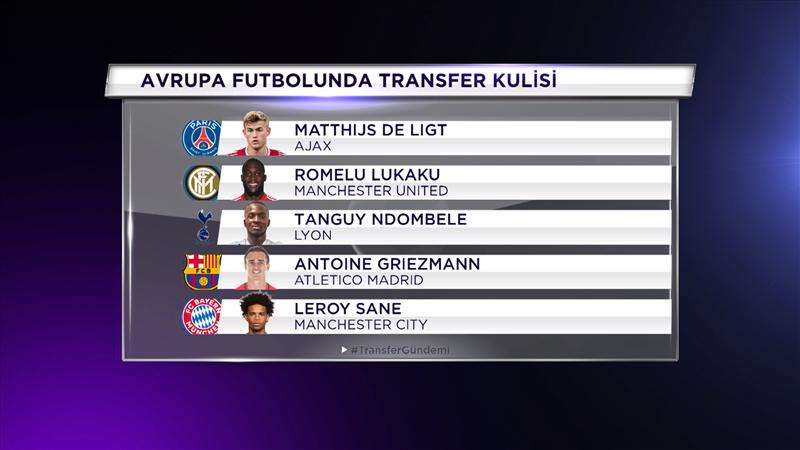 İşte Avrupa'da beklenen transferler