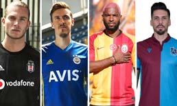 İşte 4 büyüklerin yeni sezon formaları