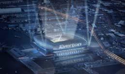 Everton yeni stat projesini tanıttı