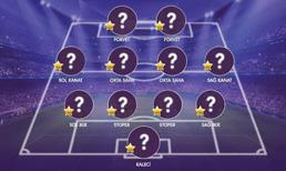 İşte OPTA verilerine göre Süper Lig'de 25. haftanın en iyi 11'i