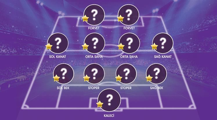 OPTA verilerine göre Süper Lig Cemil Usta Sezonu'nun 26. haftasında oynanan maçların ardından şekillenen en iyi 11 burada...