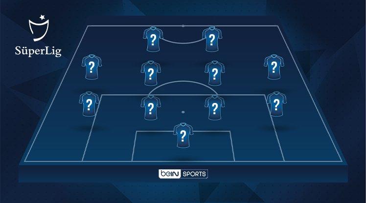 İşte OPTA verilerine göre Süper Lig'de 23. haftanın en iyi 11'i