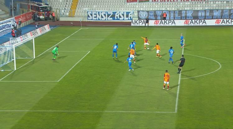 BŞB Erzurumspor Galatasaray golleri