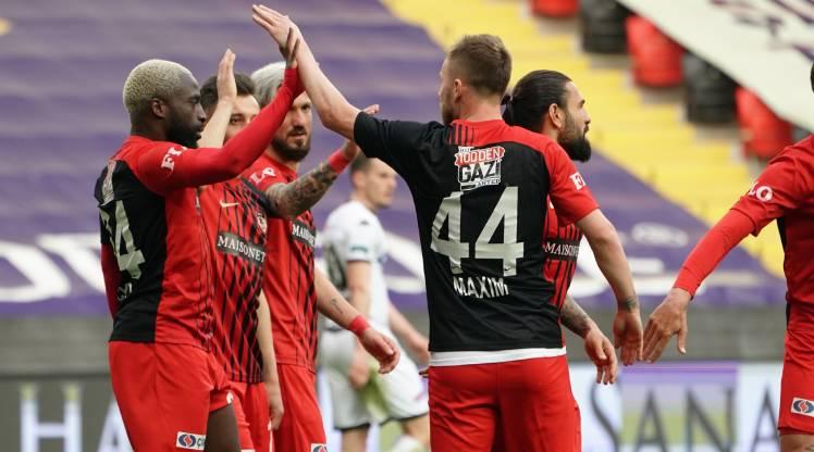 Gaziantep FK Yukatel Denizlispor golleri