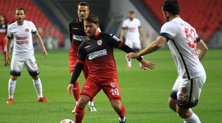 Yılport Samsunspor Cesar Grup Ümraniyespor maç özeti