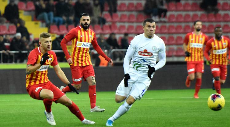 İstikbal Mobilya Kayserispor Çaykur Rizespor maç özeti