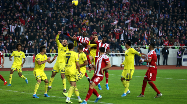 Demir Grup Sivasspor Fenerbahçe maç özeti